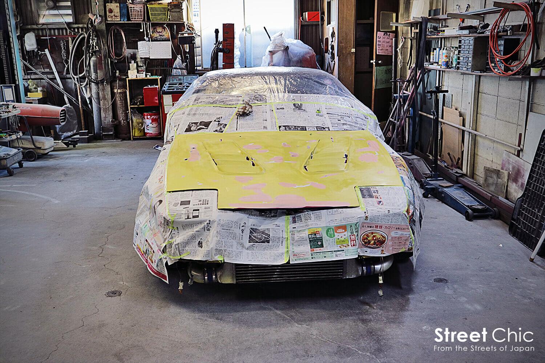 masking the hood